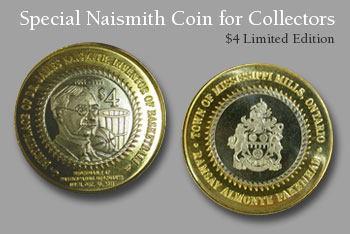 Naismith Coin for sale in the e-Store