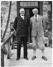 Dr. James Naismith and R. Tait Mackenzie